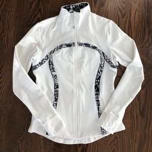 Lululemon Define track jacket - white:black